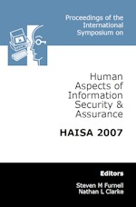 International Conference on Human Aspects of Information Security & Assurance (HAISA 2007)