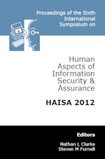 6th International Symposium on Human Aspects of Information Security and Assurance (HAISA 2012)