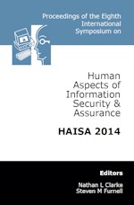 Eighth International Symposium on Human Aspects of Information Security & Assurance (HAISA 2014)
