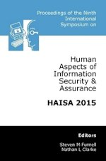 Ninth International Symposium on Human Aspects of Information Security & Assurance (HAISA 2015)