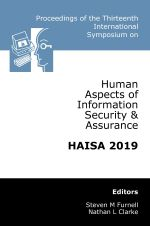 Thirteenth International Symposium on Human Aspects of Information Security & Assurance (HAISA 2019)